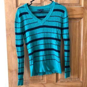 Tommy Hilfiger striped sweater size medium
